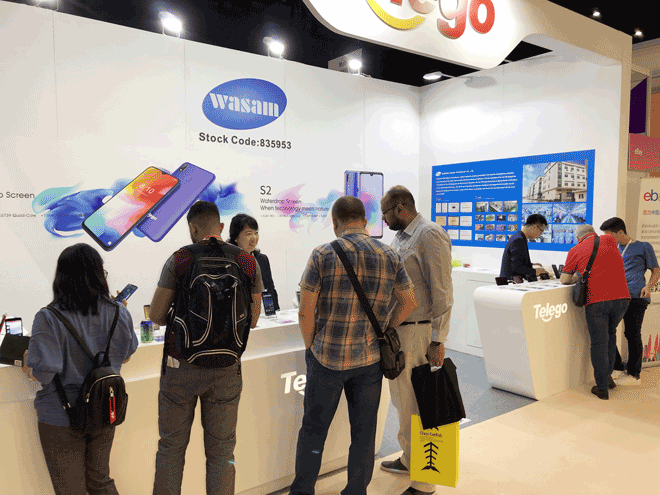 Wasam New Future Starts From 2019 Global Sources Electronics Show